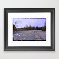 Life was a Highway Framed Art Print