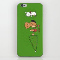 Beavers Ruin Christmas iPhone & iPod Skin