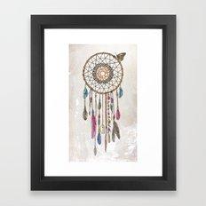 Lakota (Dream Catcher) Framed Art Print