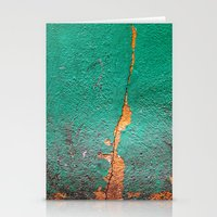 Cracked Wall Stationery Cards