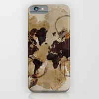 Map Stains iPhone 6 Slim Case