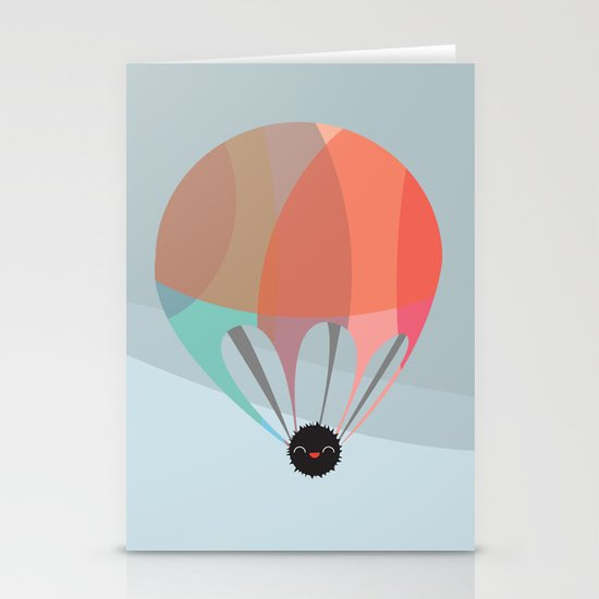 Flying Happy Dust Stationery Card