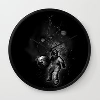 Deep Sea Space Diver Wall Clock