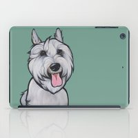 Levi the Miniature Schnauzer iPad Case