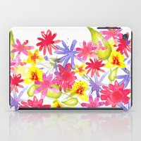 Fresh Flowers iPad Case