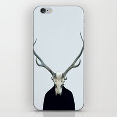 Living Skull and Horns iPhone & iPod Skin