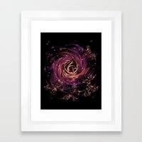 cosmic butterfly Framed Art Print