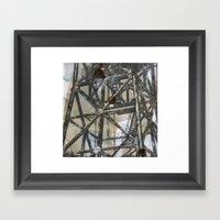Tower On Mylar  Framed Art Print