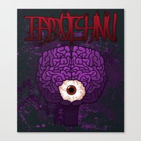 Brainy Canvas Print