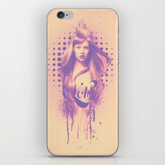 Lolly iPhone & iPod Skin