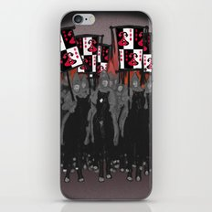 Year of the Snake: blazing banners iPhone & iPod Skin