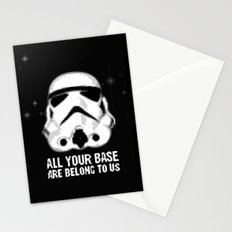 All Your Base Are Belong To Us Stationery Cards