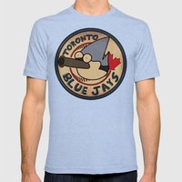 Toronto Mordecais Mens Fitted Tee Tri-Blue SMALL