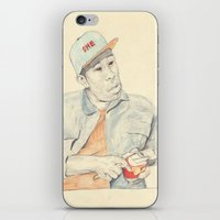 Tyler With An Apple iPhone & iPod Skin