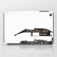 Ayrton Senna, Lotus 98T-… iPad Case