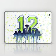 Seahawks 12th Man Fan Ar… Laptop & iPad Skin