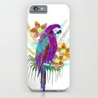 Parrot Elua  - Style A iPhone 6 Slim Case