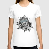 robot T-shirts featuring Robot by Gosia