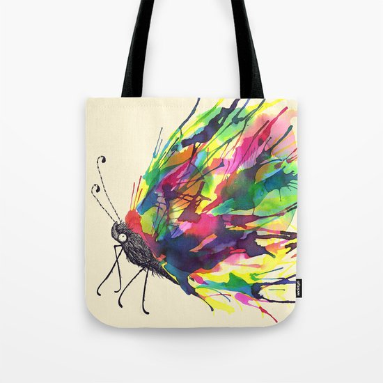From a Black cocoon Tote Bag