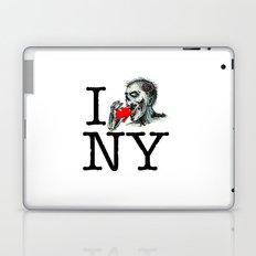 I Zombie Apocalypse New York Laptop & iPad Skin