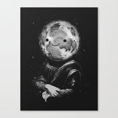 Moonalisa Canvas Print