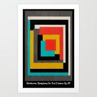 Beethoven - Symphony No.… Art Print