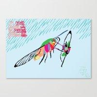 Bringing what I got [MOTH] [COLORS] [RAIN] [GIVEN] [GIVE] Canvas Print