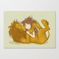 Wild Friendship Canvas Print