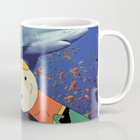 Aquaman Vs. Shark Mug