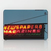 Vintage Neon Newstand Sign ~ Chicago Architecture iPad Case