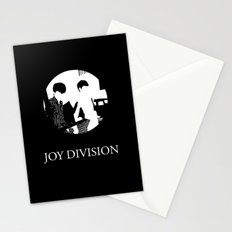 JOY DIVISION - Music | Goth | Indie | Wave | Retro | Vintage | Vector | Black and White | Vinyl  Stationery Cards