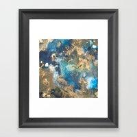 Color Commentary #10: Te… Framed Art Print