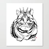 I am KING Canvas Print