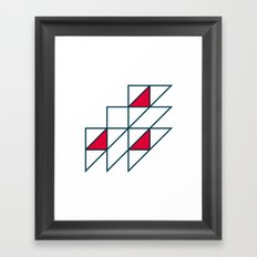 #274 Regatta – Geometry Daily Framed Art Print