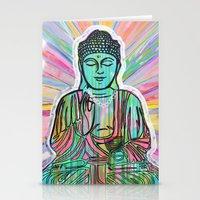 Psychedelic Buddha Stationery Cards
