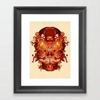 Coffee & Owls & Death Framed Art Print
