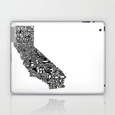 Typographic California Laptop & iPad Skin