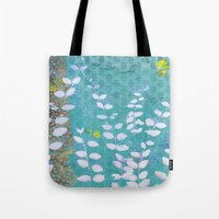 Ferns And Blue Skies Tote Bag
