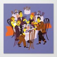 Fancy Dinner Canvas Print