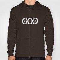 GOD - Ambigram series (Black) Hoody