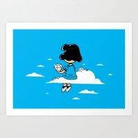 I Wonder Where Lucy Is..… Art Print