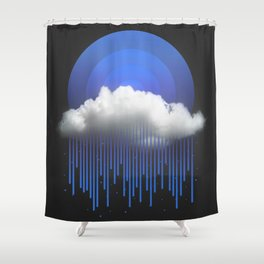 Shower Curtain - Rainy Daze - soaring anchor designs