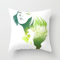 The Summer Throw Pillow