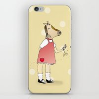 Little Horse Girl iPhone & iPod Skin