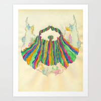 Yacht Rock Beard Art Print