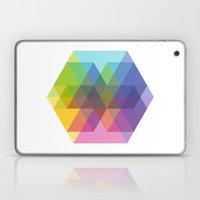 Fig. 040 Hexagon Shapes Laptop & iPad Skin