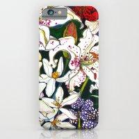 Lilies & Orchids iPhone 6 Slim Case