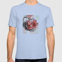 Vintage gadget series: View-Master Model G Mens Fitted Tee Athletic Blue SMALL