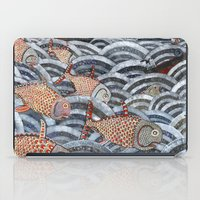 Golden Fishes iPad Case