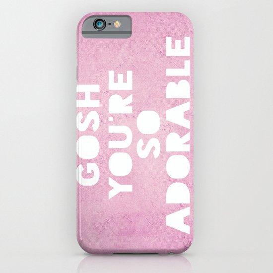 Gosh, Adorable iPhone & iPod Case